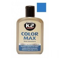 Color Max Colored Wax with Carnauba 200ml Blue