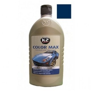 Color Max Colored Wax with Carnauba 500ml Navy Blue
