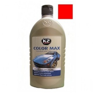 Color max Farbwachs mit Carnauba, 500ml rot