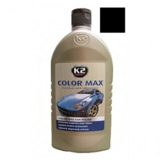 Color Max Colored Wax with Carnauba 500ml Black